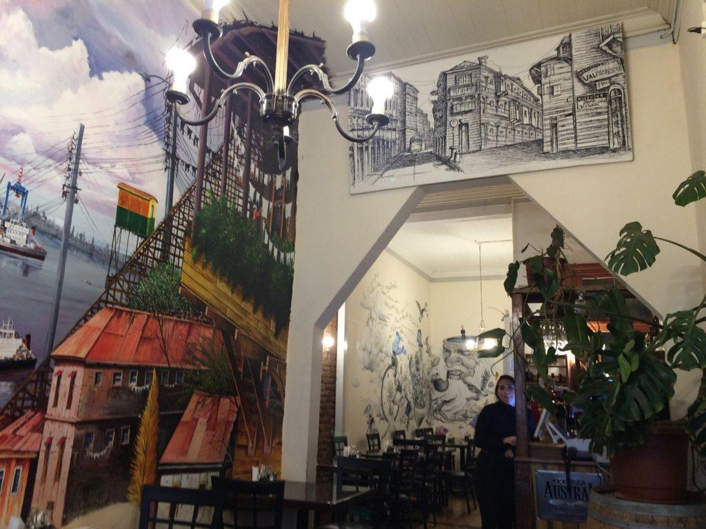 Cafe del Pintor à Valparaiso