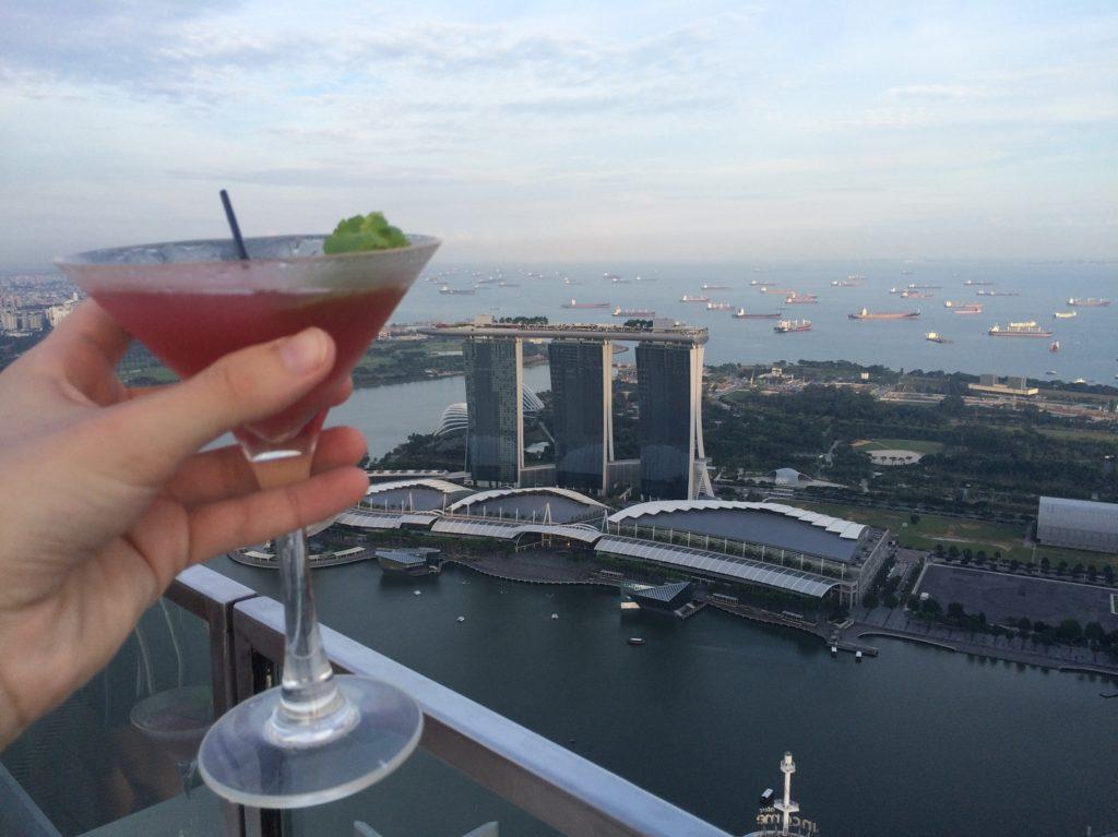 Cocktail au 1-Altitude