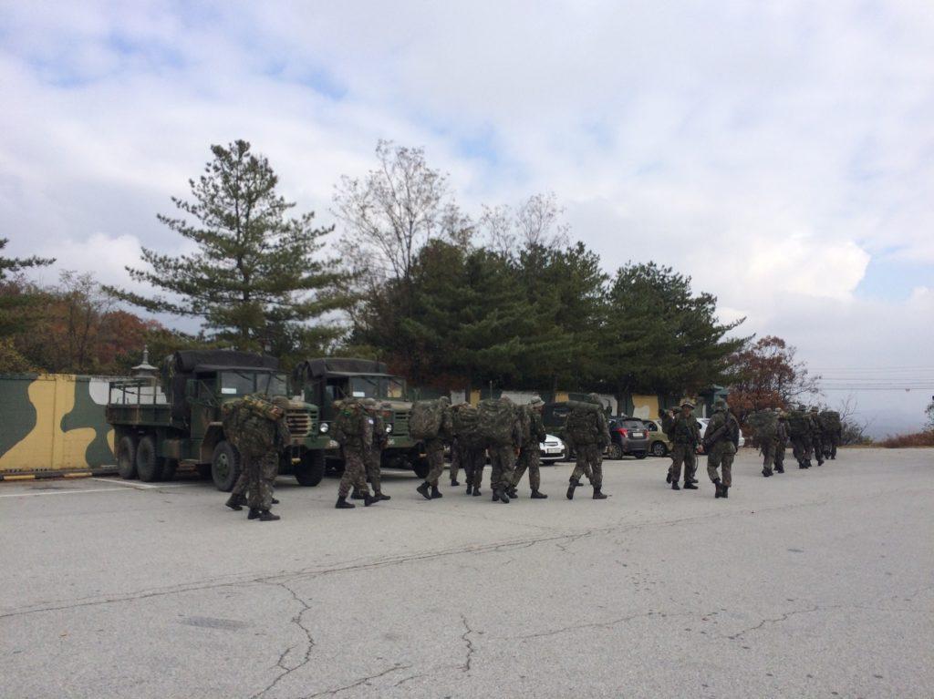 Armée à la DMZ