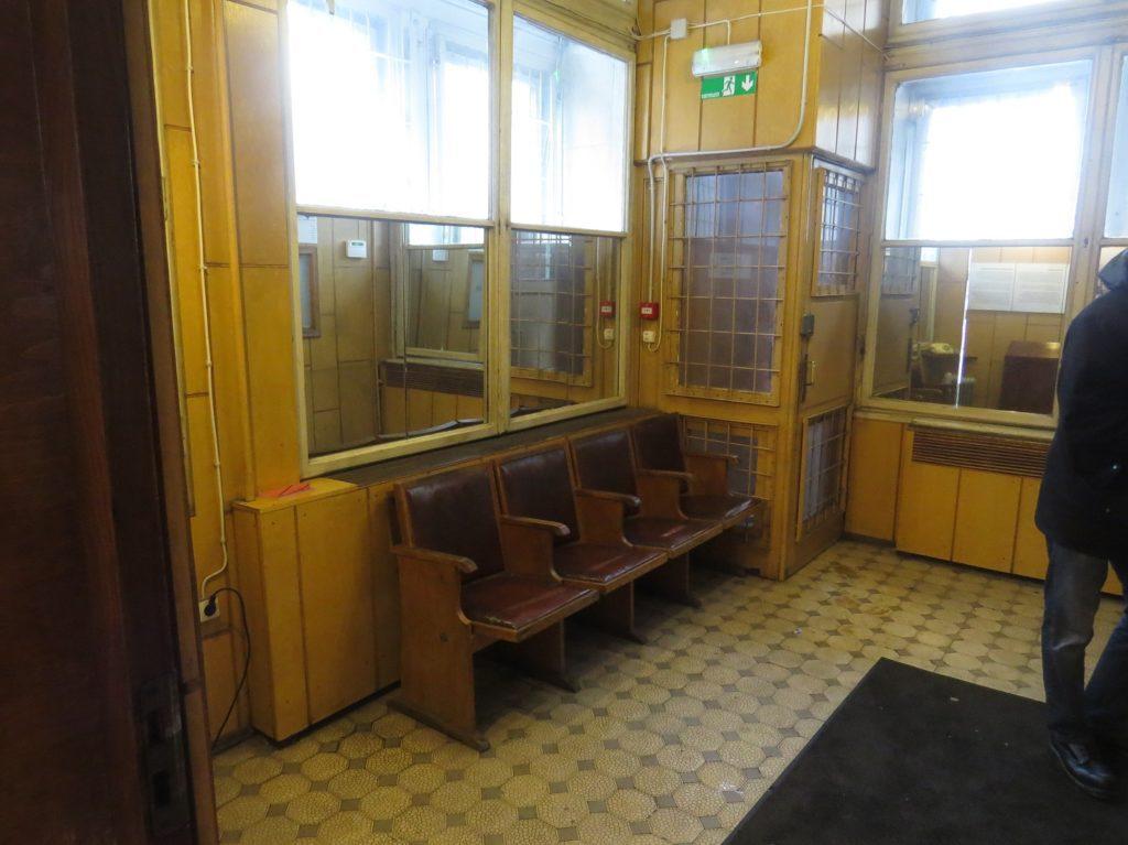 Entrée du siège du KGB à Riga