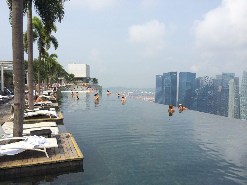 Infinity Pool au Marina Bay Sands