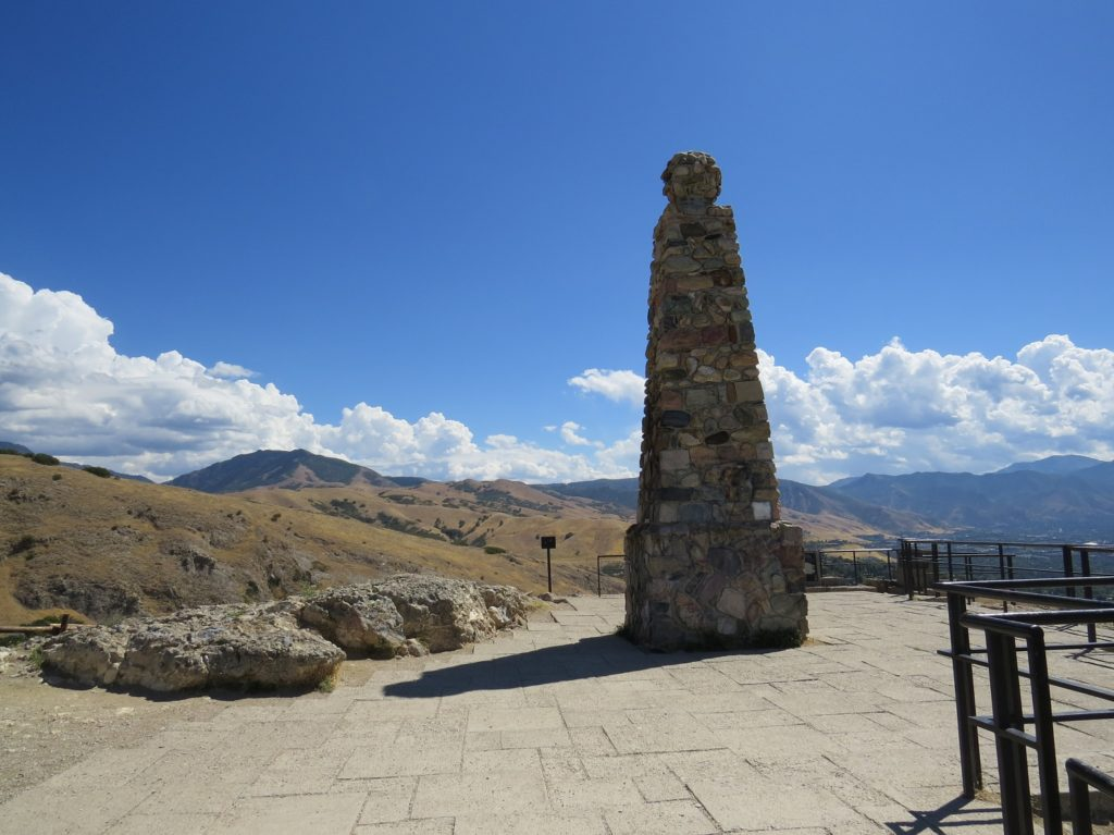 Monument à Ensign Peak