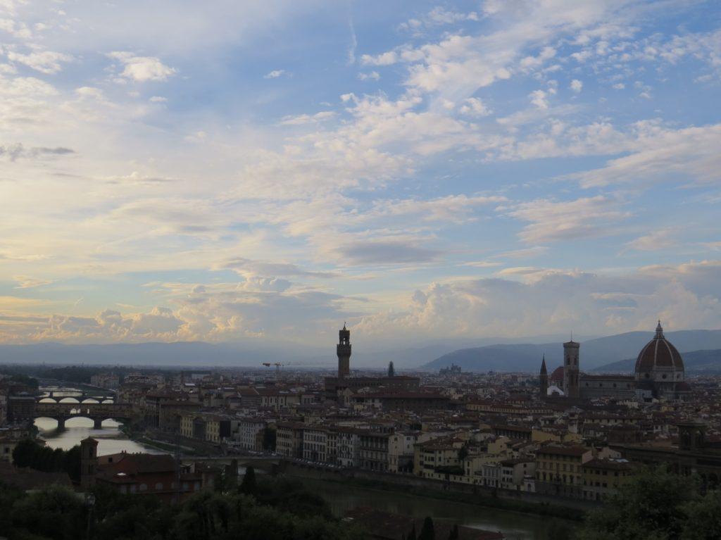 Panorama à Florence