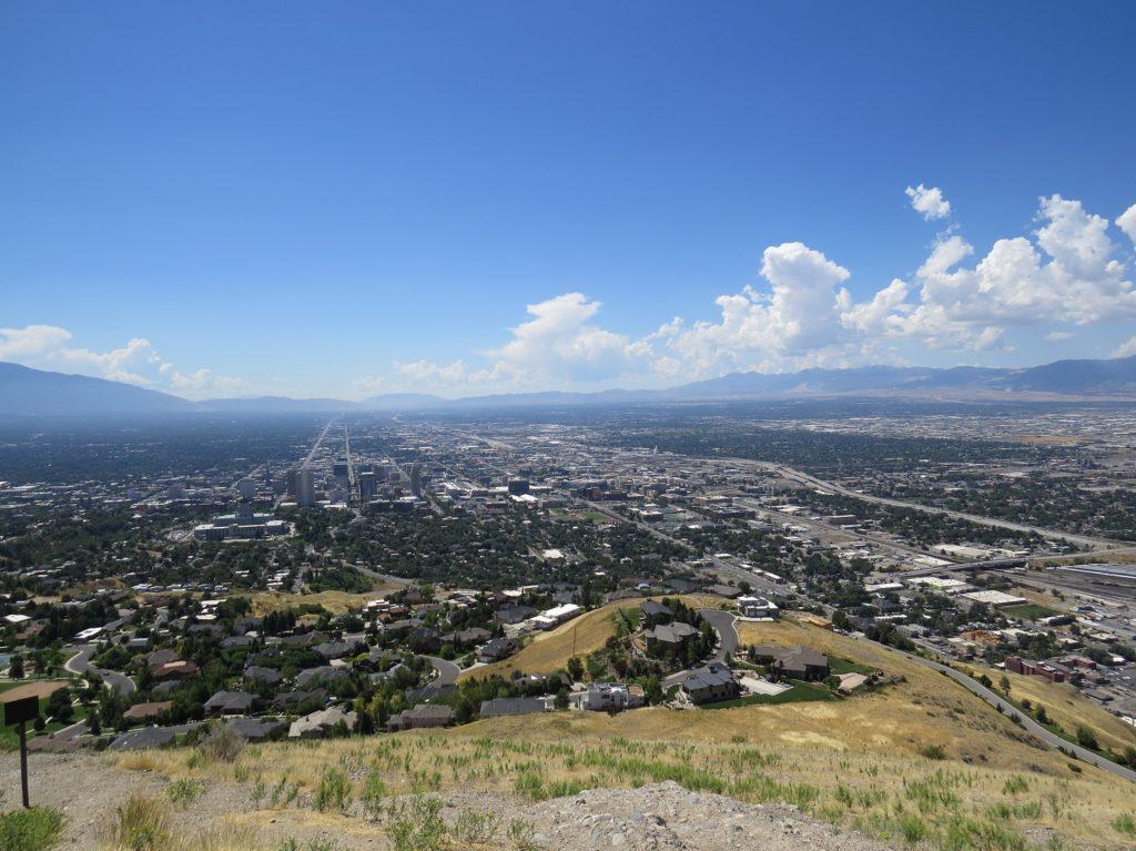 Vue depuis Ensign Peak