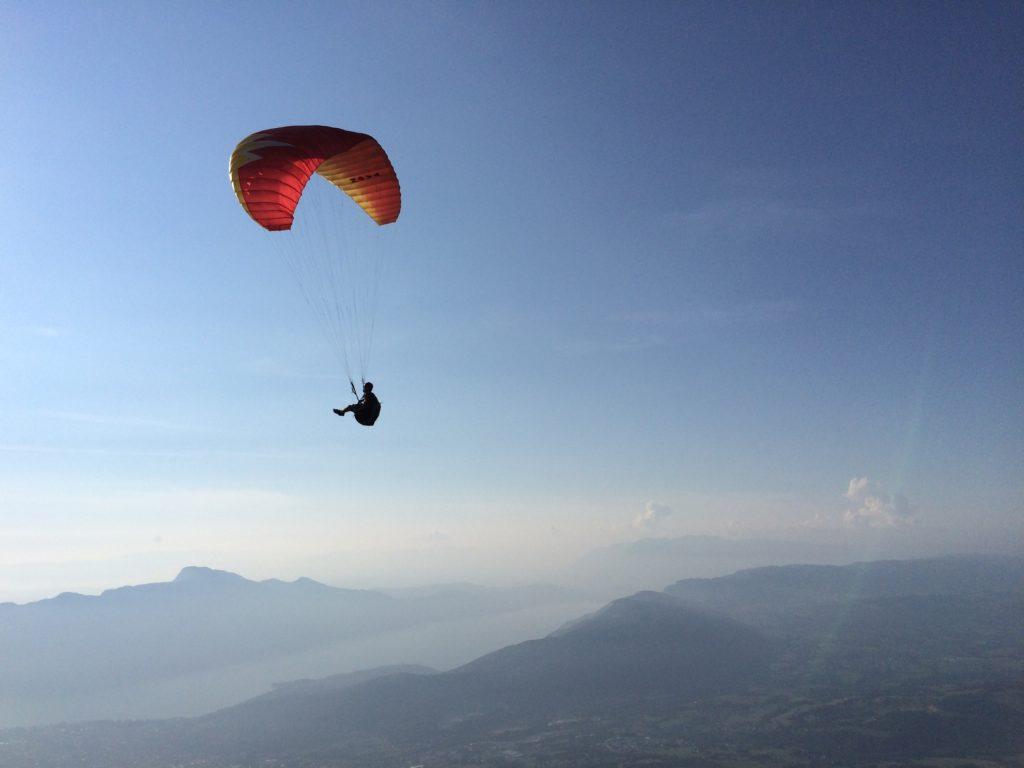 Parapente au mont Revard