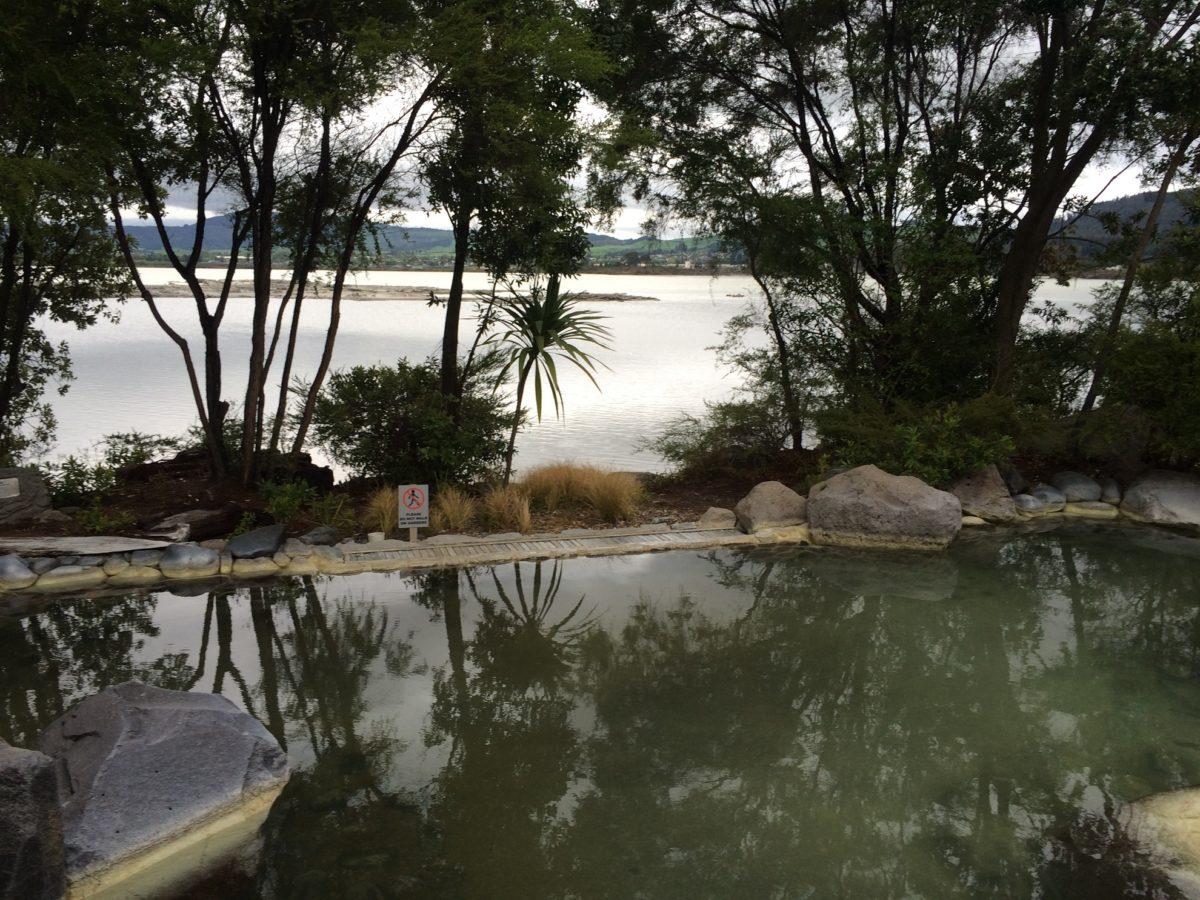 Polynesian Spa à Rotorua