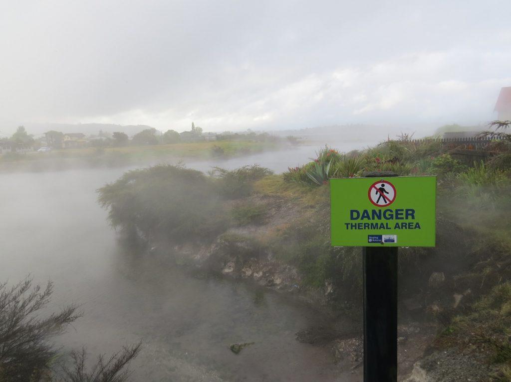 Source thermale à Rotorua
