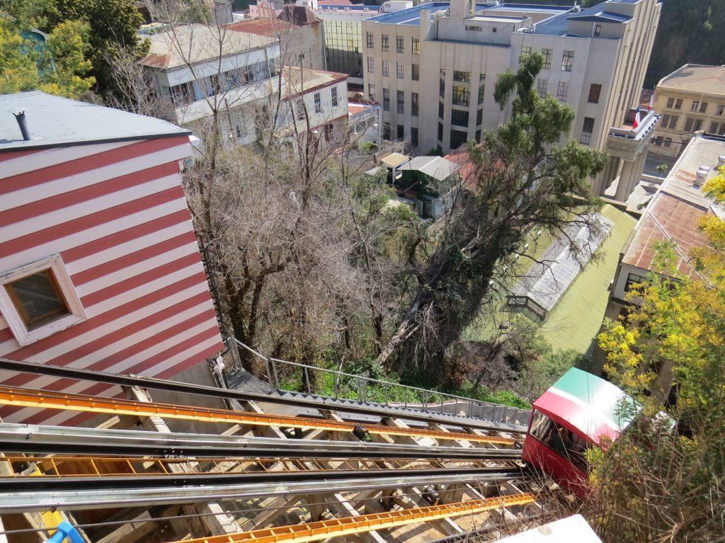 Ascensor El Peral à Valparaiso
