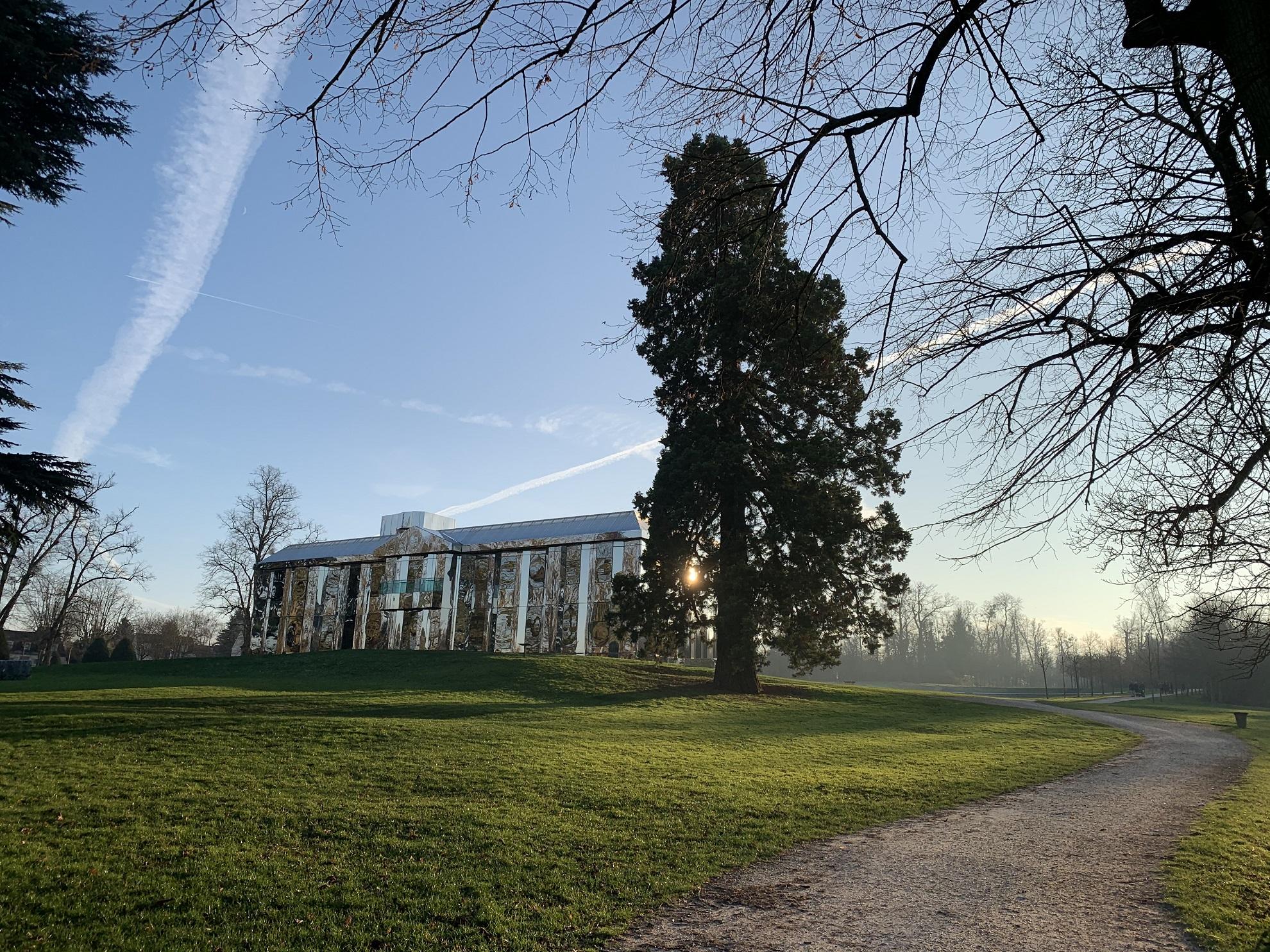Le Château de Rentilly, une galerie de glaces!