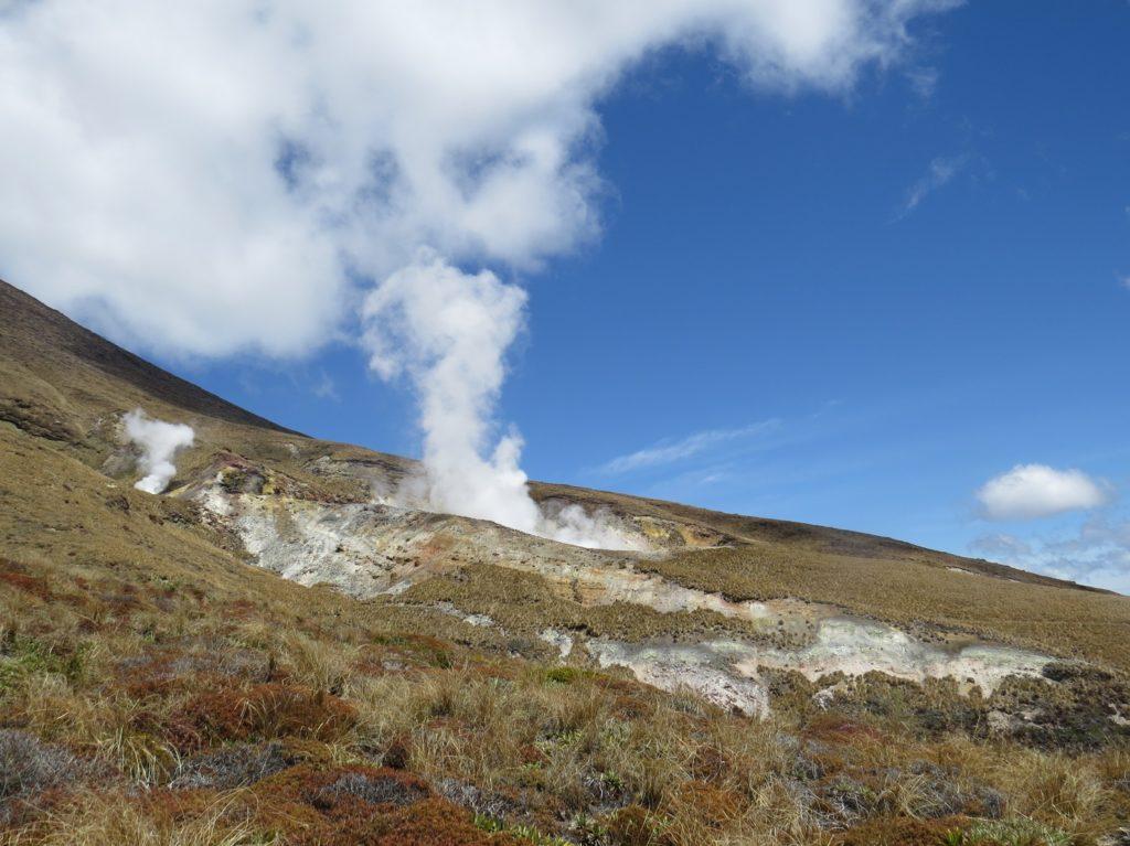 Fumeroles au Tongariro