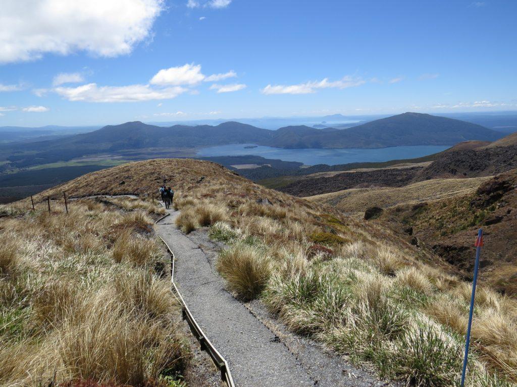 Descente du Tongariro