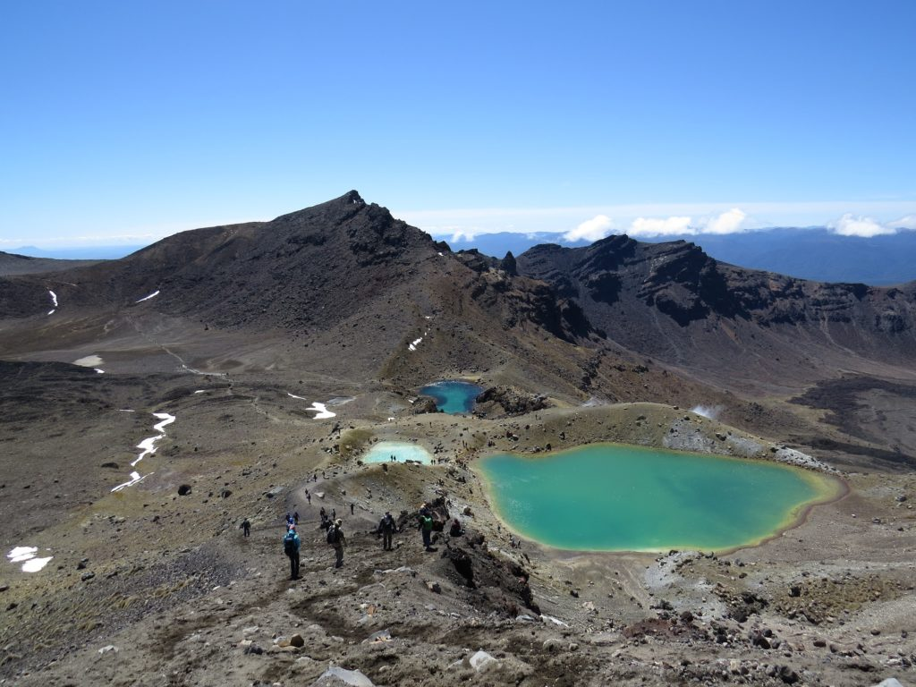South Crater au parc Tongariro