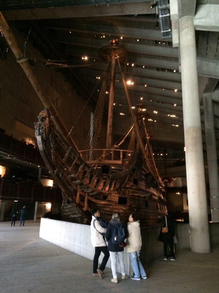 Entrée du musée Vasa