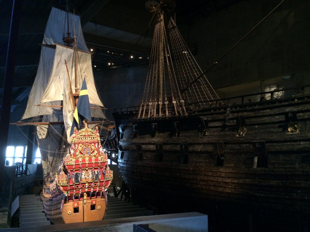 Musée Vasa à Stockholm