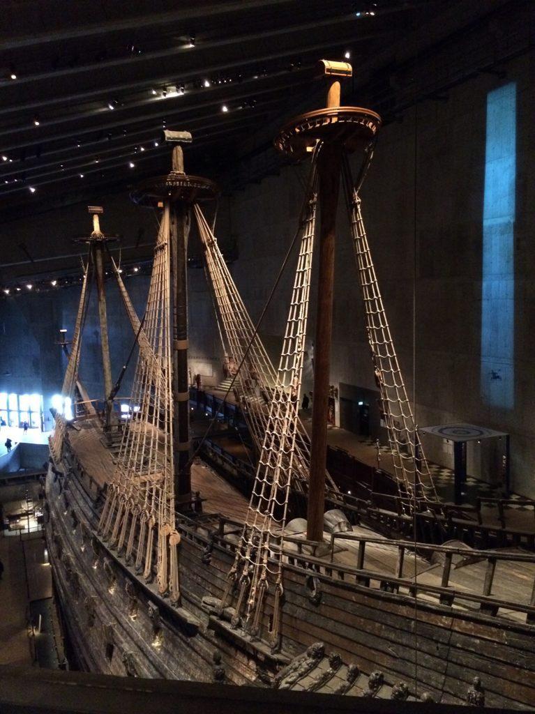 Le Vasa vu de haut