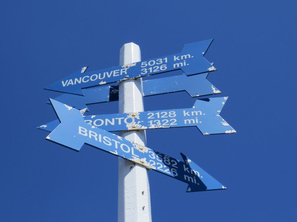 Panneaux à Signal Hill