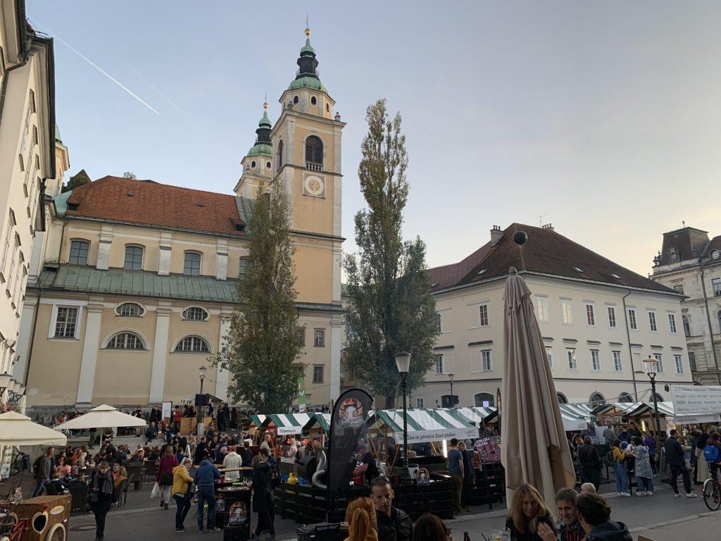 Marché à Ljubljana