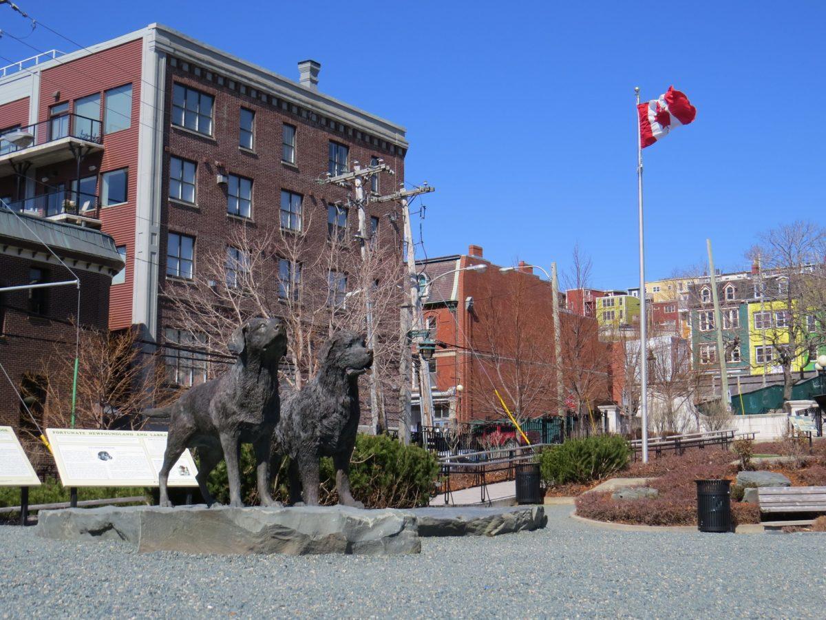 Harbourside Park à St John's
