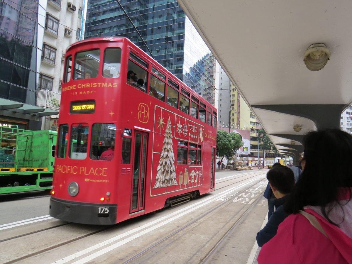 Tramway à Hong Kong