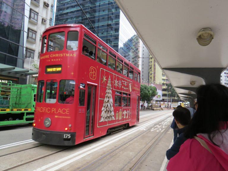 À bord des tramways de HongKong