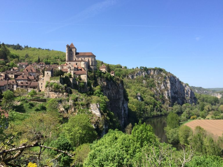 Le Lot médiéval, direction Saint-Cirq-Lapopie
