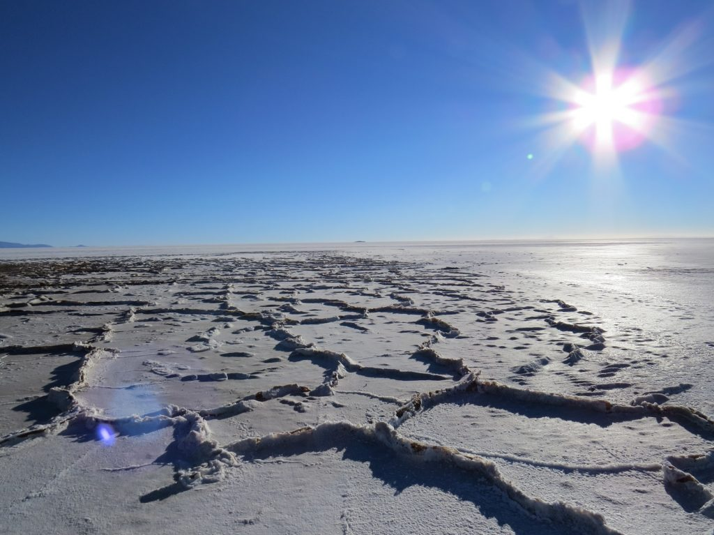 couche de sel à Uyuni