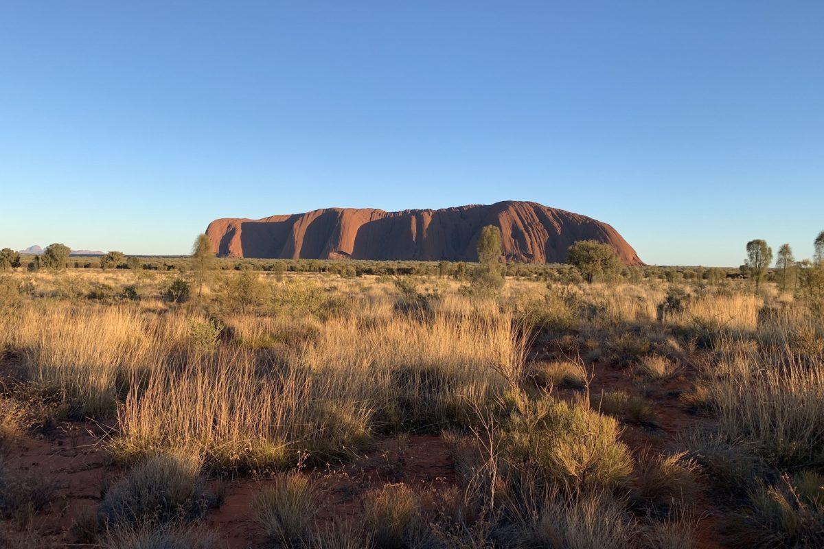 Le rocher d'Uluru, joyau sacré de l'Australie