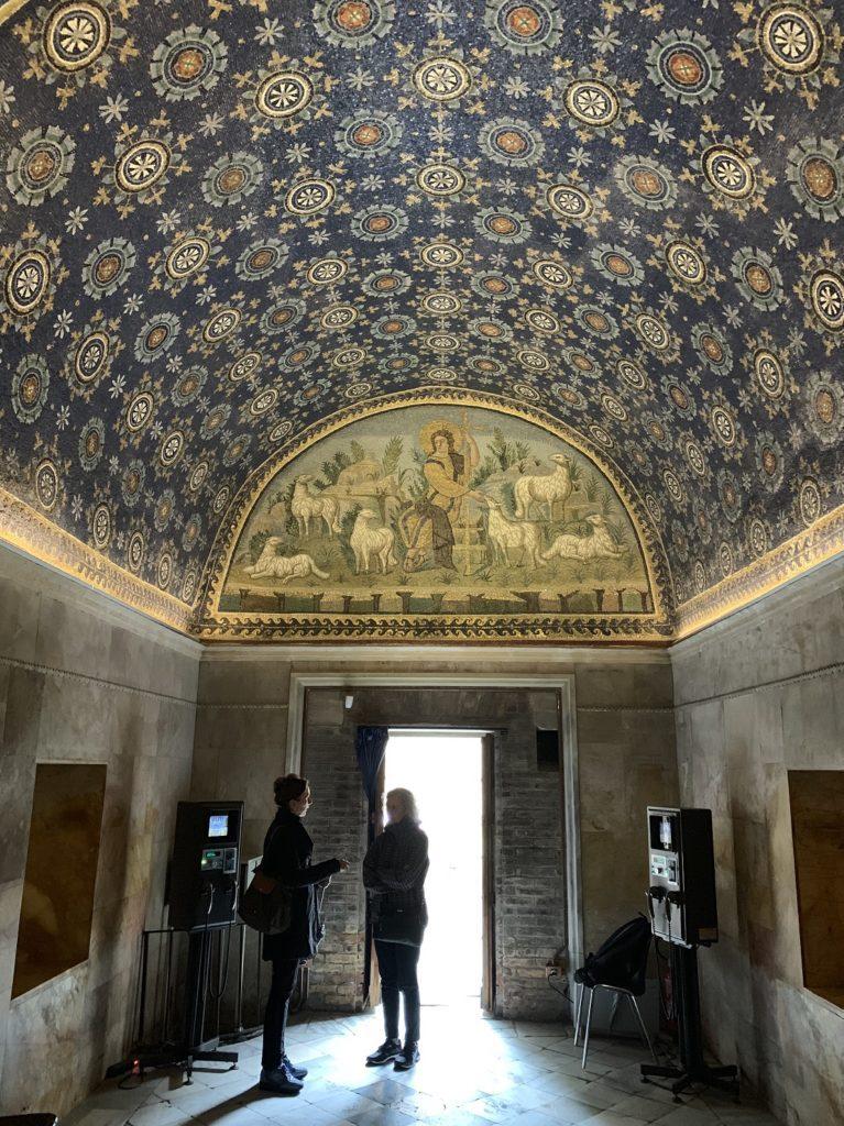 Entrée du mausolée de Galla Placidia