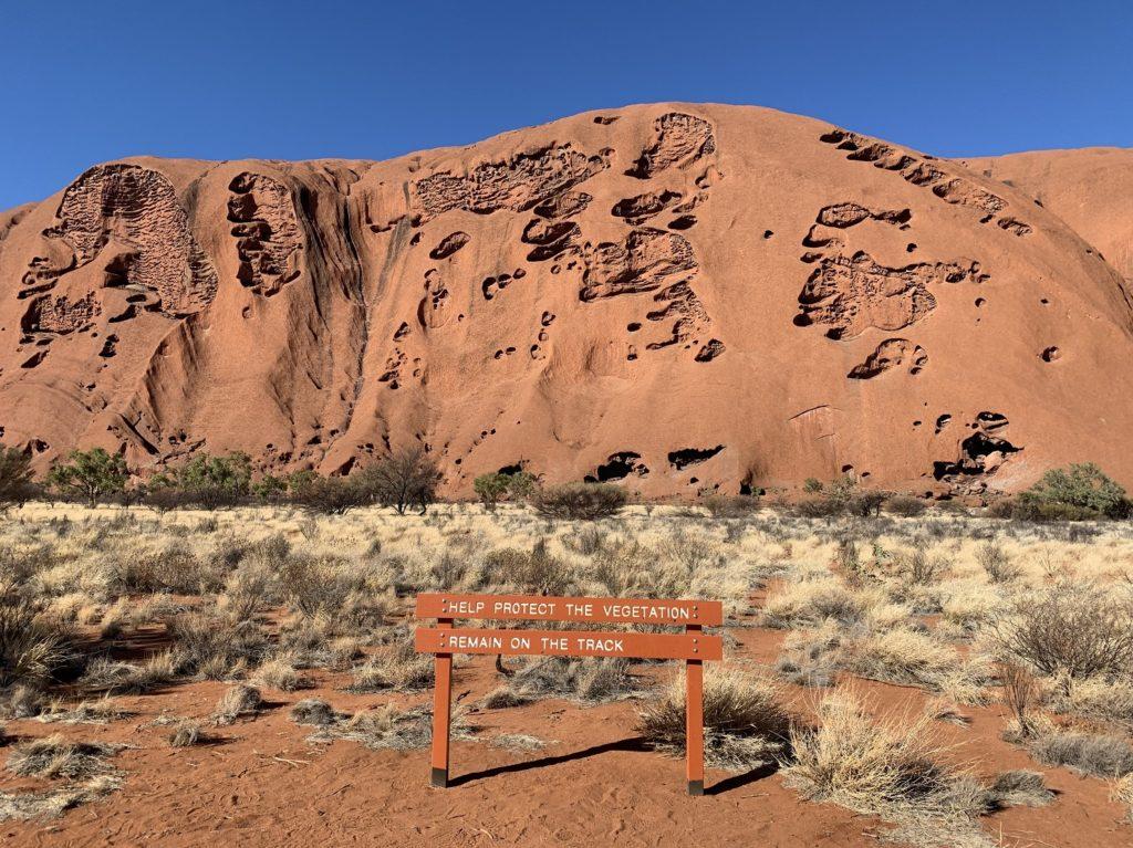 Vue sur le rocher