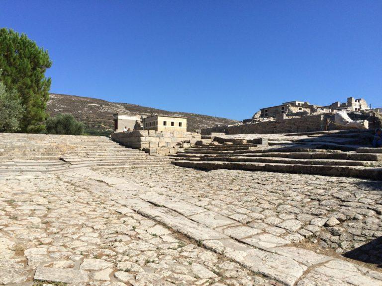 Palais de Knossos: entre histoire et reconstitution