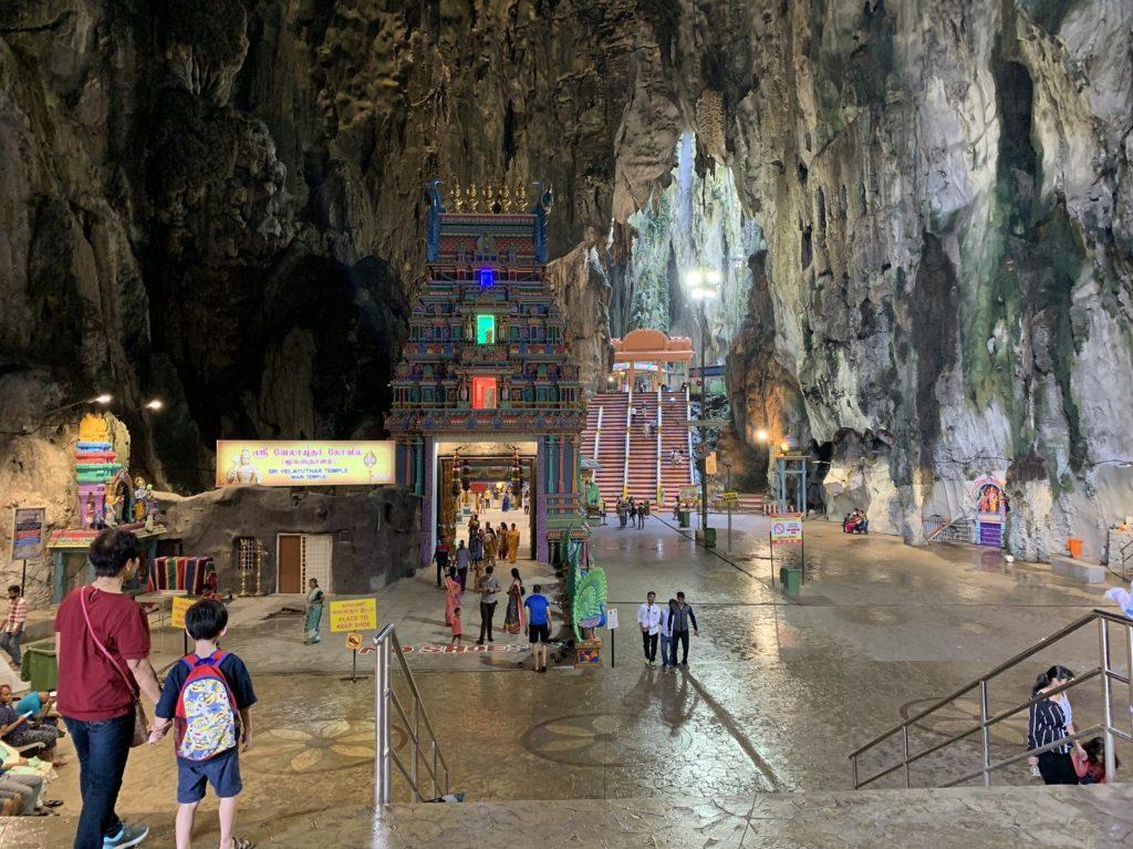 Intérieur des grottes de Batu
