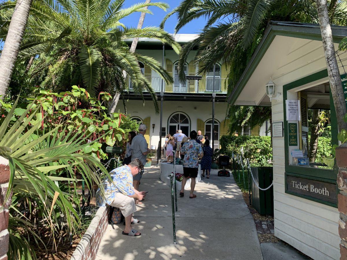 Entrée de la maison d'Hemingway