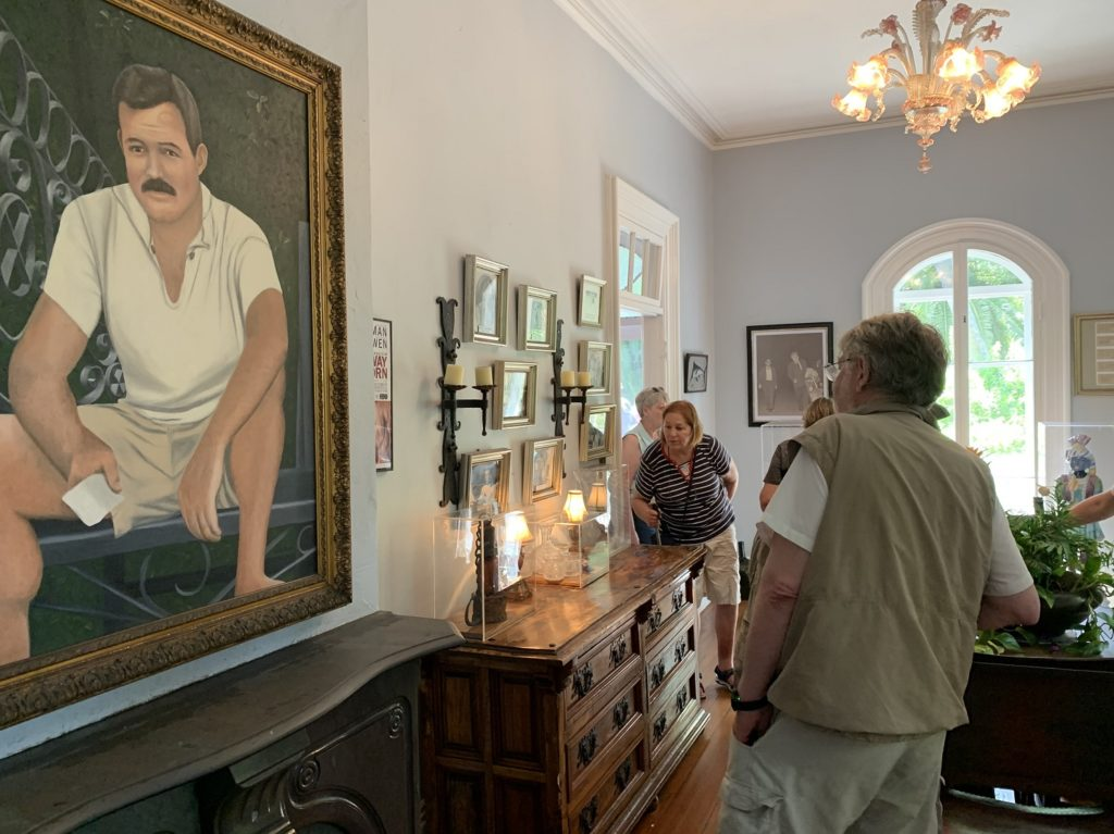 Tableau d'Ernest Hemingway