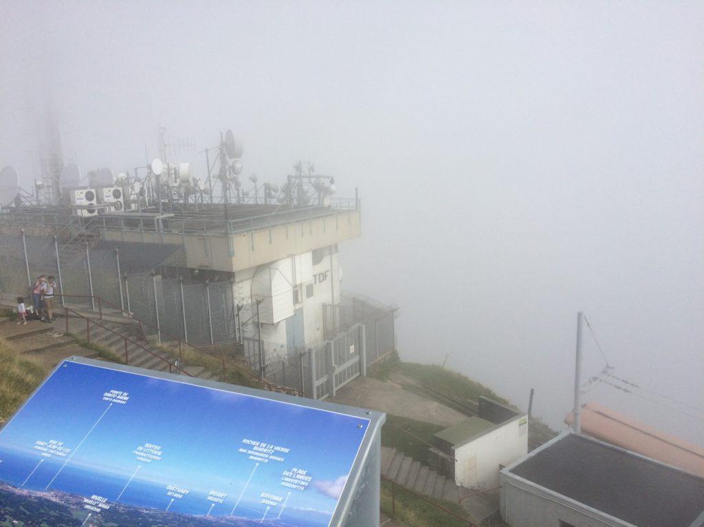 Panorama au sommet de la Rhune