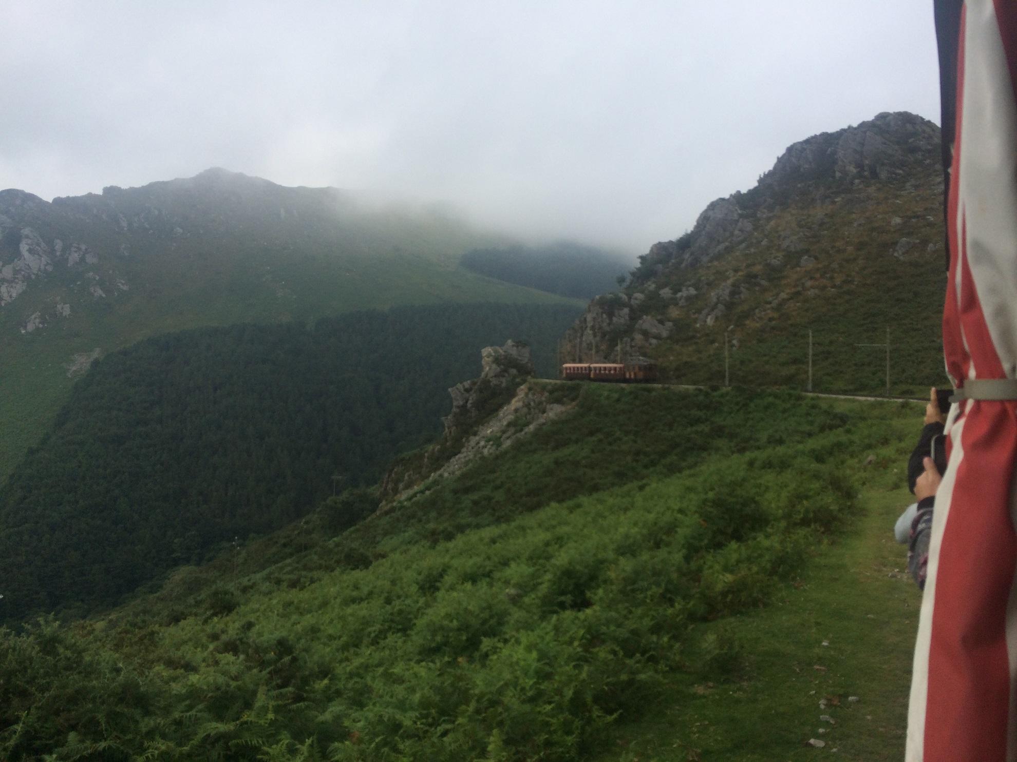 Le massif de la Rhune, un petit train et puis s'enva
